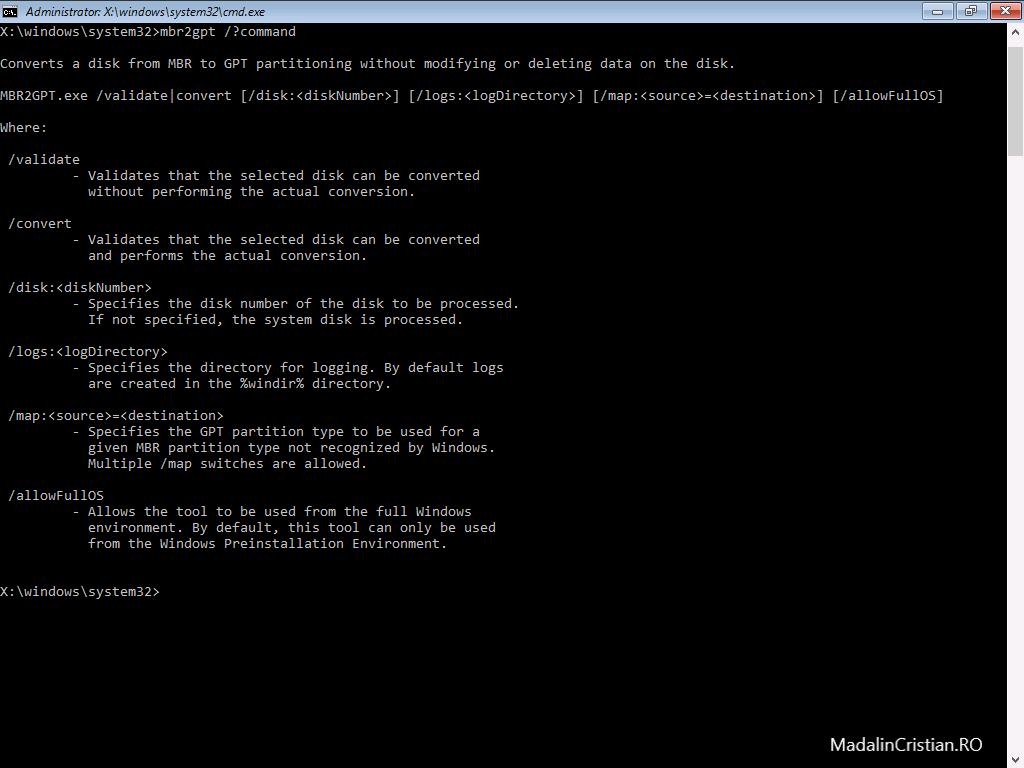 Cum afli informații despre sistem din Command Prompt?