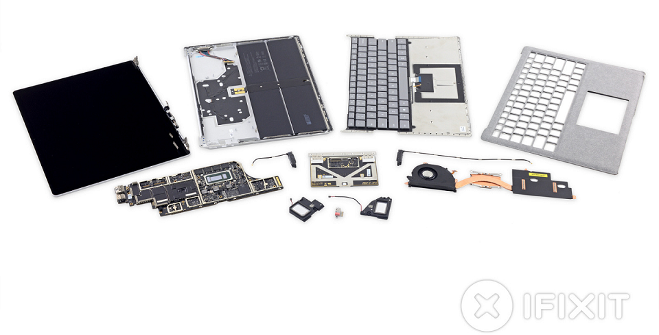 Cât de ușor de reparat este Surface Laptop 3?