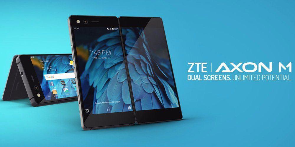 ZTE Axon M – primul telefon cu 2 ecrane de la ZTE