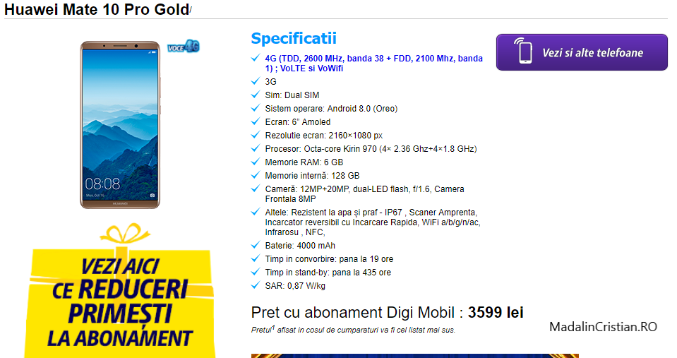 Digi.Mobil introduce în ofertă primele telefoane de la Huawei și Motorola compatibile VoLTE și VoWiFi