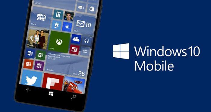 Revine Windows 10 pe mobil?