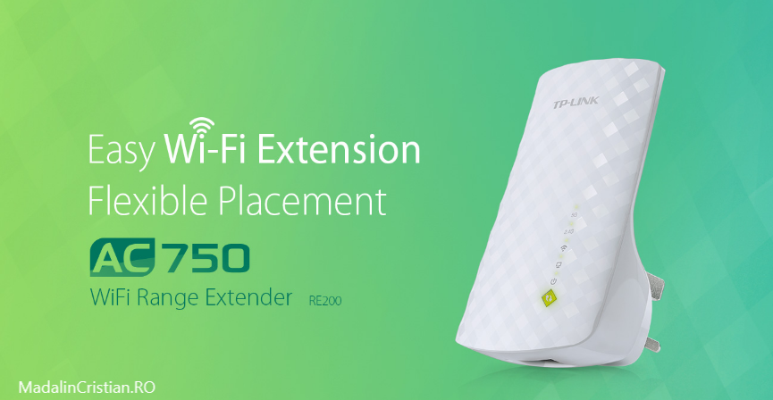 Am testat extender-ul TP-Link RE200