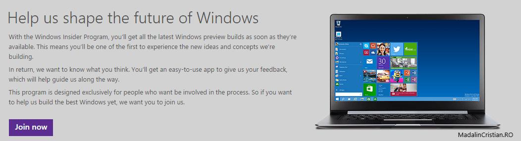 Ce schimbări aduce Microsoft în programul Windows Insider?