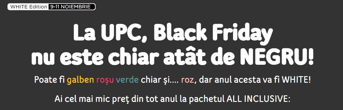 Oferta Black Friday de la UPC