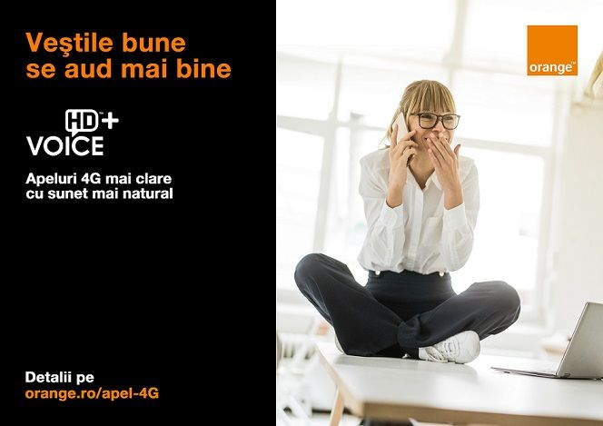 Noua tehnologie HD Voice Plus de la Orange