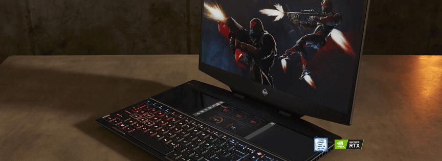 HP Omen X 2S – primul laptop cu 2 ecrane