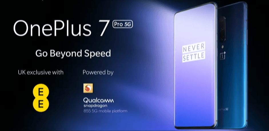 OnePlus 7 Pro 5G în exclusivitate la EE UK