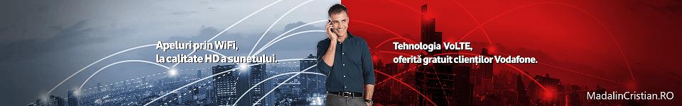 Vodafone a (re)lansat serviciile VoLTE și VoWiFi după 5 ani