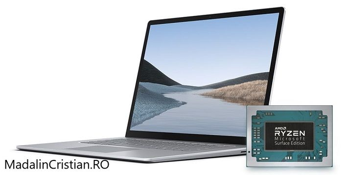 Microsoft Surface 4 cu AMD Ryzen 4000