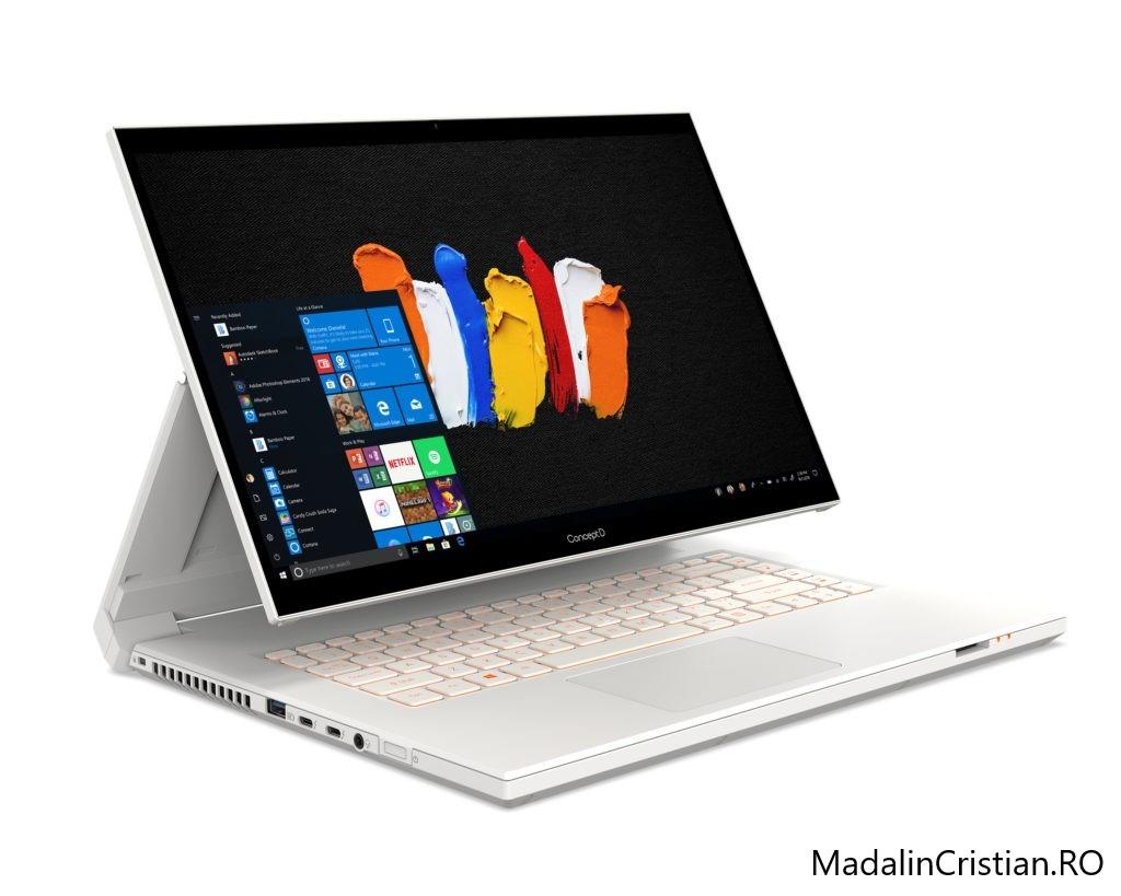 CES 2020: Acer a prezentat laptopurile Spin 3 și Spin 5, noul ConceptD 7 și monitoarele de gaming Predator