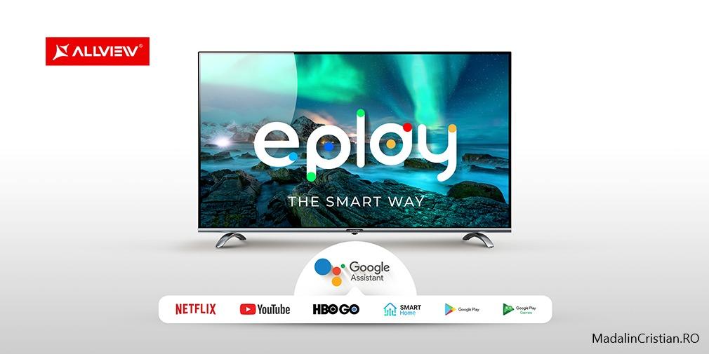 Allview lansează o nouă gamă de televizoare smart – ePlay