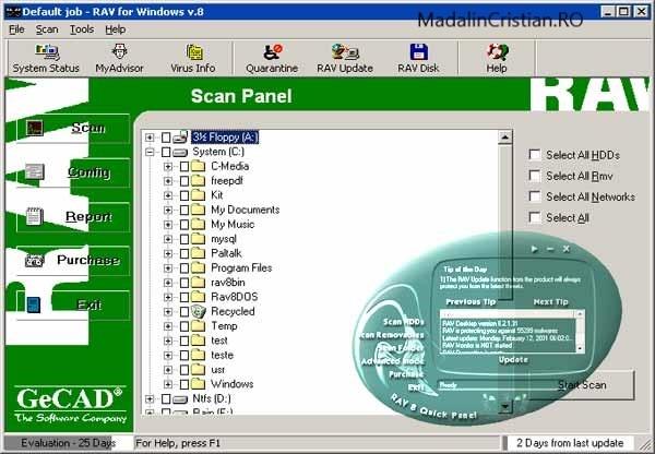 GeCAD RAV sau cum a apărut Windows Defender?