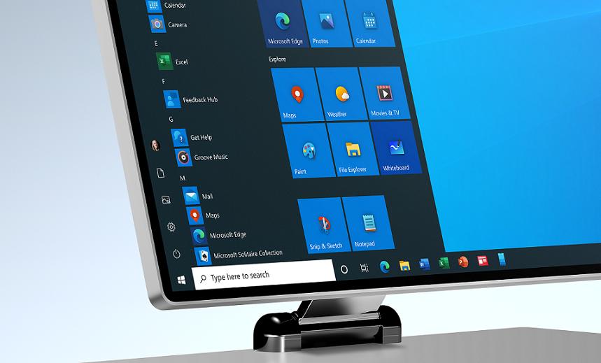 Un nou design al pictogramelor din Windows 10