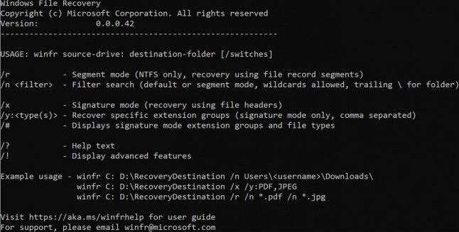 Microsoft lansează Windows File Recovery