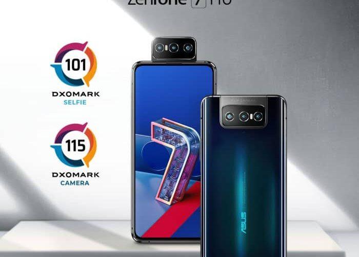 ASUS ZenFone 7 Pro excelează în DXOMARK Benchmark Performance și este evaluat drept cel mai bun telefon pentru selfies video