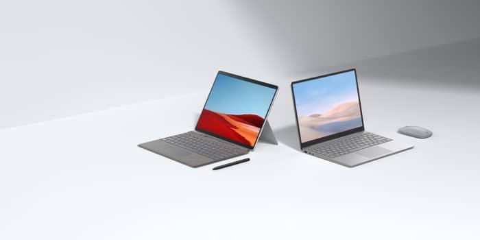 Microsoft lansează Surface Laptop Go, noi accesorii și noutăți pentru Surface Pro X