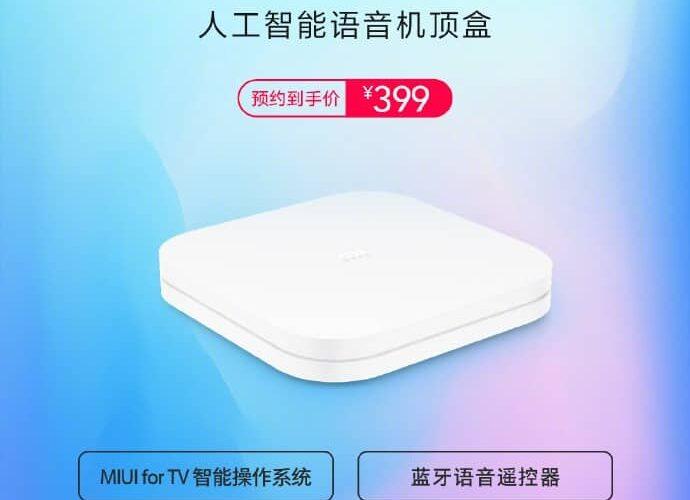 Xiaomi lansează Mi Box 4S Pro